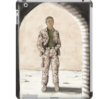 Captain Watson iPad Case/Skin