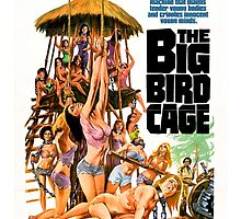 The Big Bird Cage (Green) by PulpBoutique