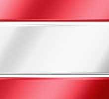 Austrian Flag - Austria - Metallic Sticker