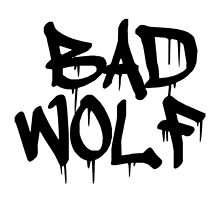 Bad Wolf by tardisimpala221