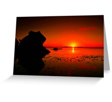 """Lonsdale Sunrise"" Greeting Card"