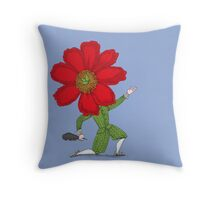 The Poet in Love Throw Pillow