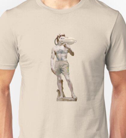 The Statue Of David ! Hasselhoff Unisex T-Shirt