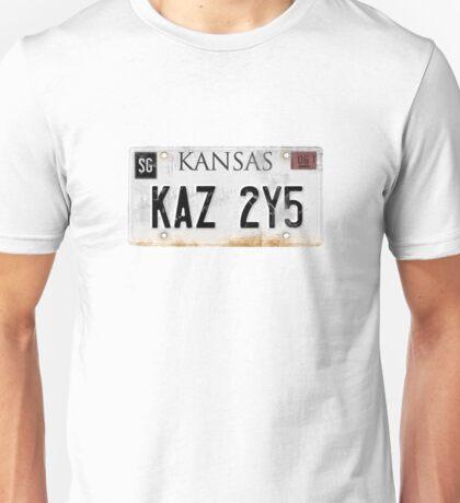 Impala Licence Plate Unisex T-Shirt