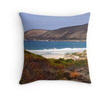 Springtime on the coast Throw Pillow