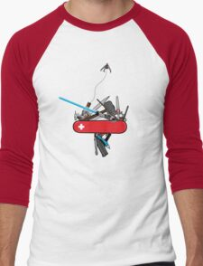 The geek army knife Men's Baseball ¾ T-Shirt