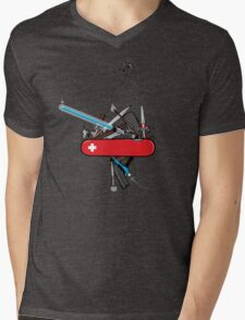 The geek army knife Mens V-Neck T-Shirt