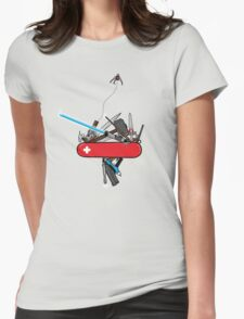 The geek army knife Womens T-Shirt