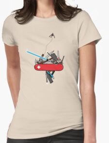 The geek army knife Womens Fitted T-Shirt