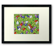 Link's Pattern Framed Print