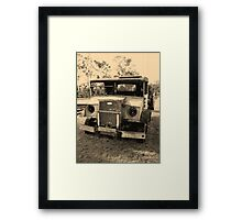 A Drop of the Past Framed Print