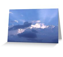 Blue Sky Greeting Card