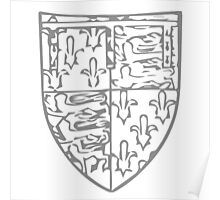 A Complete Guide to Heraldry - Figure 730 — John of Gaunt, Duke of Lancaster, bore Poster
