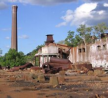 Chillagoe Smelters by Roanne
