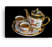Chinese Tea Set  Canvas Print