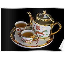 Chinese Tea Set  Poster