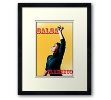 Salsa/Flamenco Framed Print