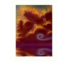 Skysong Art Print