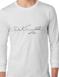 David Tennant Autograph Long Sleeve T-Shirt