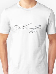David Tennant Autograph Unisex T-Shirt