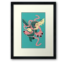 Abstract colourfest Framed Print
