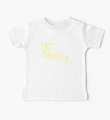 Get Sherlock Baby Tee