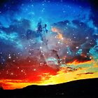 Cosmic Sunset by Kathleen Daley