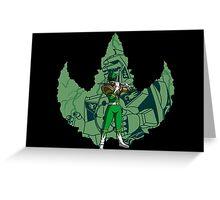 Calling the Dragonzord Greeting Card