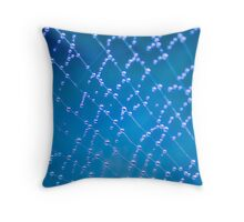 ...everything is connected... Throw Pillow
