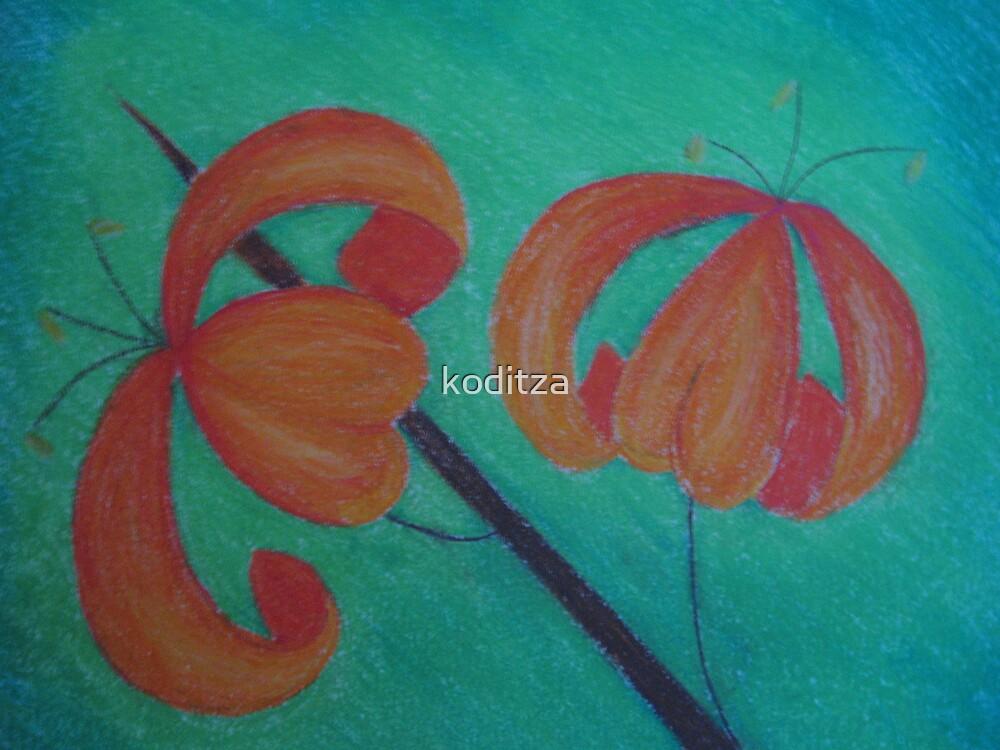 lillies by koditza