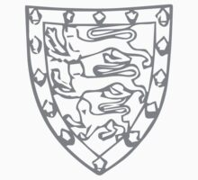 A Complete Guide to Heraldry - Figure 708 — Arms of John de Holand, Duke of Exeter (d 1400) Kids Tee