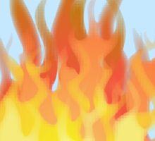 Victorian fires Sticker