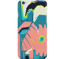 Freestyle pastel abstract iPhone Case/Skin