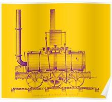 Blenkinsop Locomotive Poster