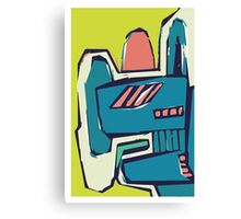 Multicoloured freestyle abstract Canvas Print