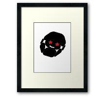 All Star- Mushroom Framed Print