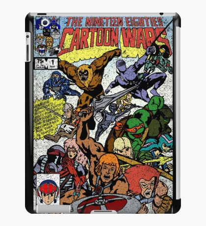 Cartoon Wars iPad Case/Skin