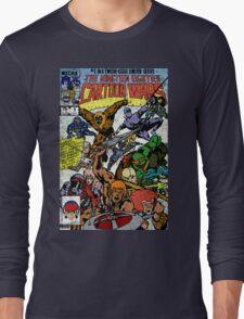 Cartoon Wars Long Sleeve T-Shirt
