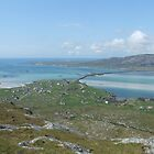 View from Ben Scrien on Eriskay  by Debz Kirk