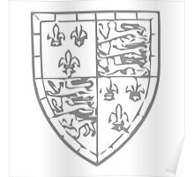 A Complete Guide to Heraldry - Figure 724 — John de Beaufort, Earl and Marquis of Somerset, son of John of Gaunt Arms subsequent to his legitimation Poster