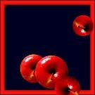 Rolling Apples by Bluesrose