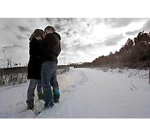 The Romantic Flare Photographic Print