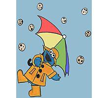 Me Singing in the Rain Photographic Print