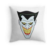 Joker The Animated Series Throw Pillow