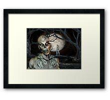 Zombie Malevolence Framed Print