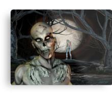 Zombie Malevolence Metal Print