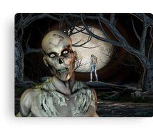 Zombie Malevolence Canvas Print