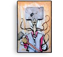 Sledge Head Canvas Print