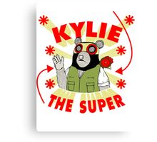 Kylie The Super Canvas Print