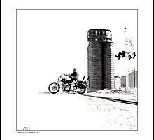 Crossing at the Silo by Don Bailey
